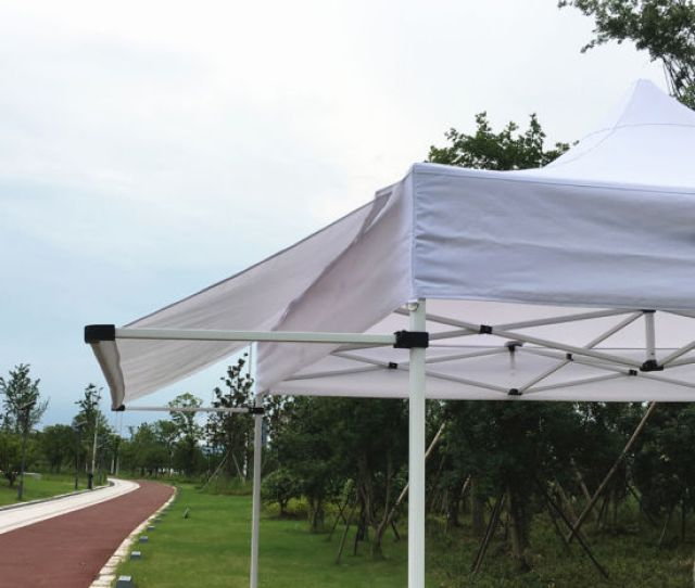 Xm New Style Pop Up Canopy Tent With Awning Flap