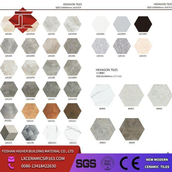 hexagon tile porcelain tile hand painted floret brick hexagon ceramic tile