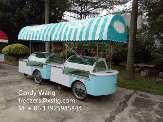 A Complete Gelato Shop On Wheels Don Cola Inside Is The Symbol Of Italian Vintage Style It Will Assist You During Busy Days Guaranteeing High