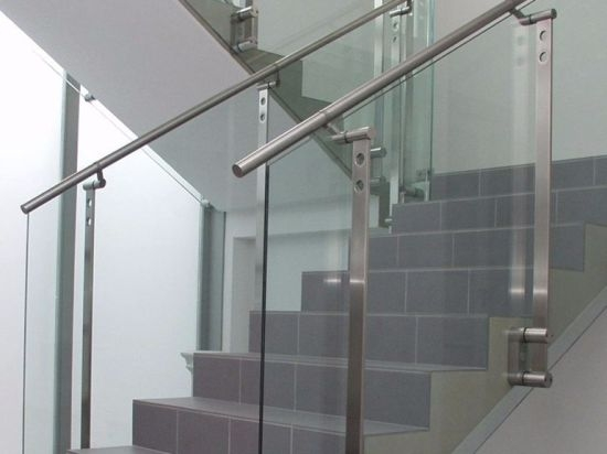 China Tempered Glass Staircase Railing Handrail China Glass   Tempered Glass Stair Railing   Hand Rail   Glass Design   Toughened Glass   Staircase   Round Staircase