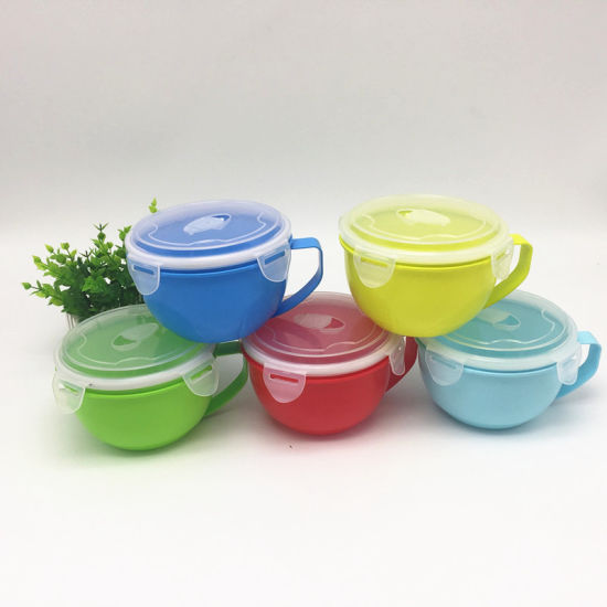 microwave soup noodle mug bowl with lid