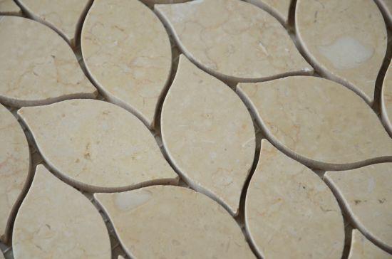 china wholesale leaf shaped backsplash