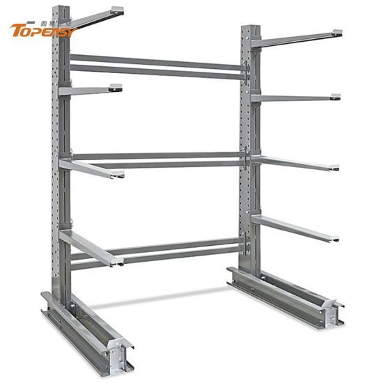 galvanized single or double side heavy duty outdoor storage cantilever racks