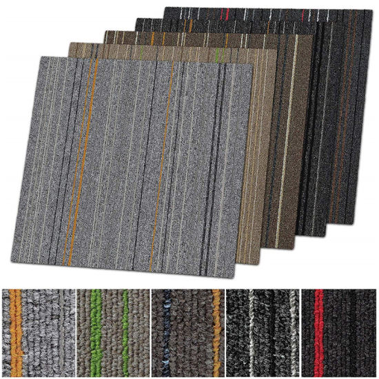 light grey colour monolithic carpet tiles for updating homes and offices 50cm x 50cm