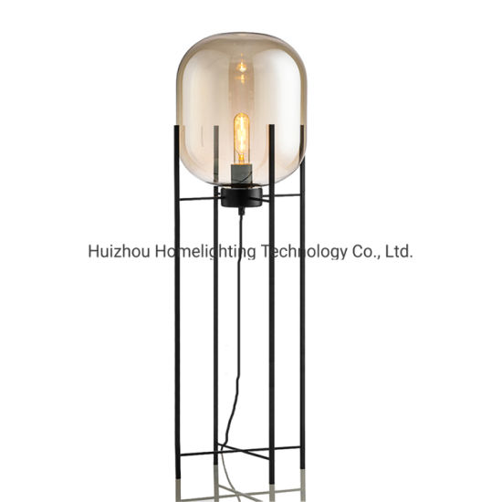 China Jlf 3096 Post Modern Living Room Decorative Glass Floor Standing Lamp China Floor Lamps Glass Floor Standing Lamp