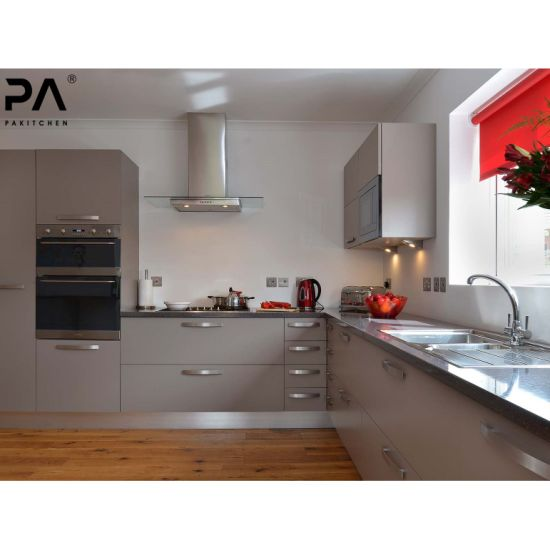 China Factory Prefab Cheap Price Modular Contemporary Kitchen Pantry Cupboard With Island Pvc Grey Kitchen Cabinet China Kitchen Cabinet Kitchen Furniture