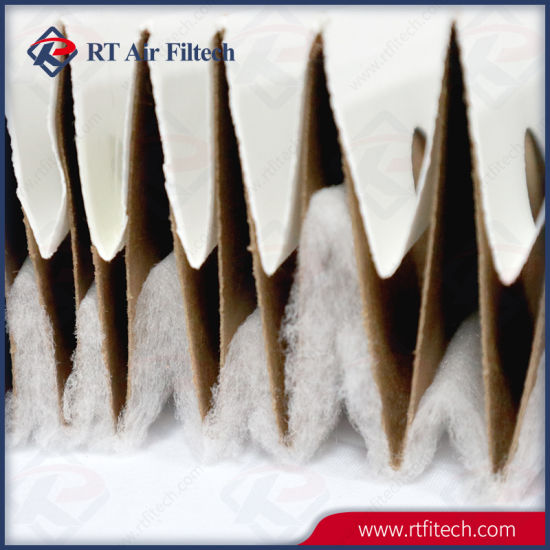 industrial paint mixing spray booth exhaust filter