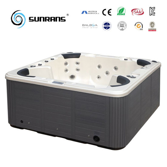 China Discount Portable Wooden Whirlpool Soft Hot Tubs