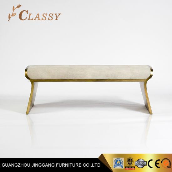 golden brushed stainless steel frame