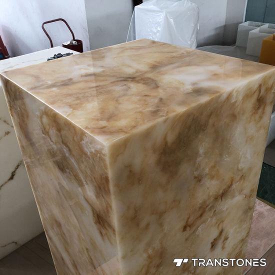 china artificial stone translucent