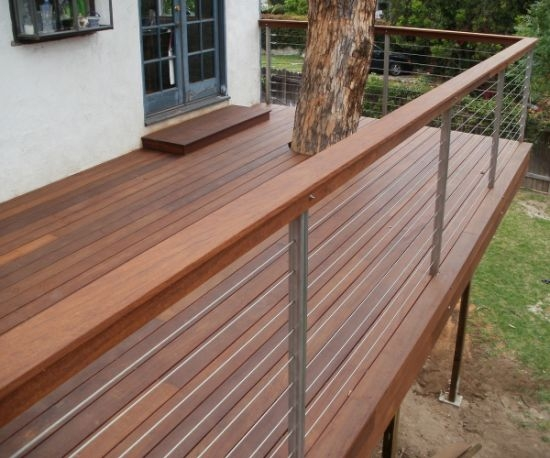 China Excellent Design Exterior Hard Wood Handrail Stainless Steel | Exterior Wood Handrail Designs | Exterior Railing Iron | Style Stainless Steel Wood | Wooden | Contemporary Wood | Modern
