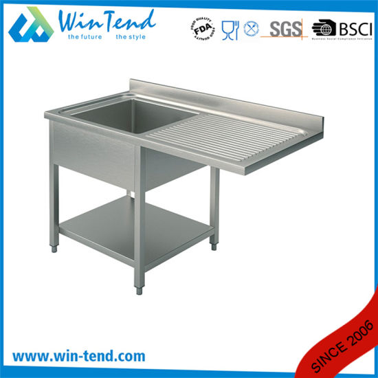 stainless steel commercial large rectangular kitchen utility sink