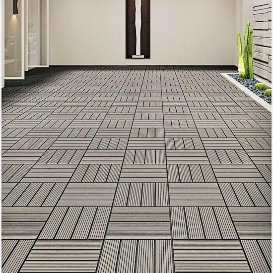 wpc composite wood plastic deck tile