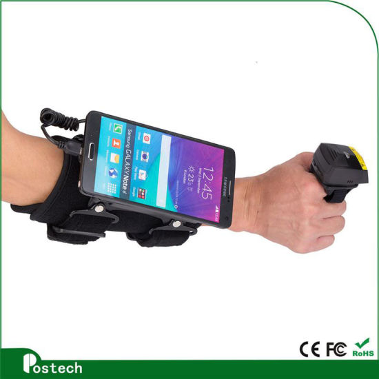 China Android Qr Code Reader Fs02 Bluetooth Finger Barcode ...