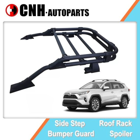 oe design roof rack luggage carrier top cargo basket for toyota rav4 2019 2020