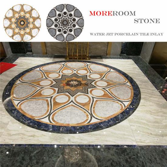 china waterjet cut porcelain tile