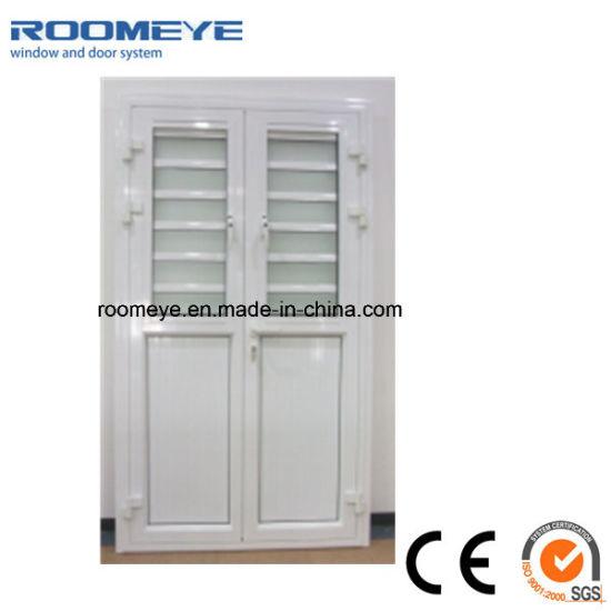 chine portes a battants en aluminium