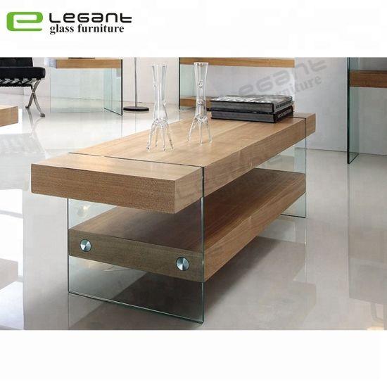 chine le verre trempe clair meuble tv