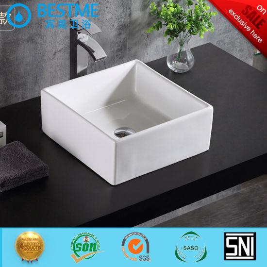 Chine Salle De Bains Avec Meuble Lavabo En Ceramique Carree Lavabo Bc 7009 1 Acheter Salle De Bain Lavabo Sur Fr Made In China Com