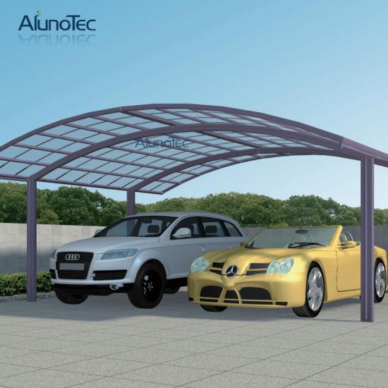 aluminium double abri pour 2 voitures