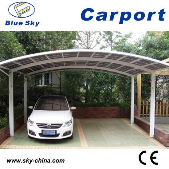 polycarbonate double garage automobile