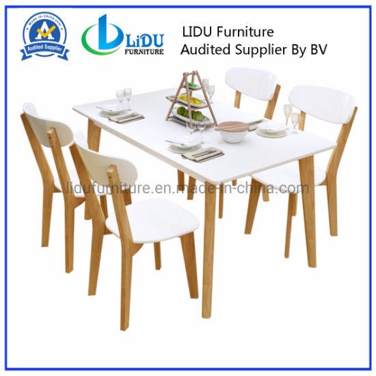 bois moderne table