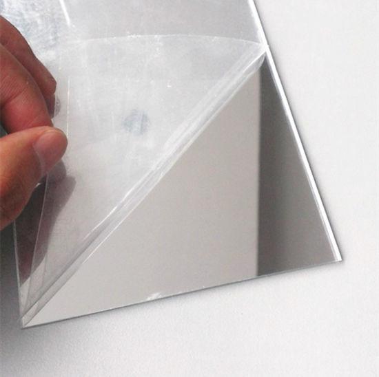 laser pmma acrylique feuille de miroir