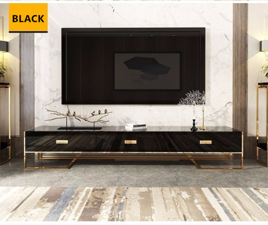 acier inoxydable meuble tv