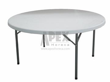 pliage en plastique pliable table