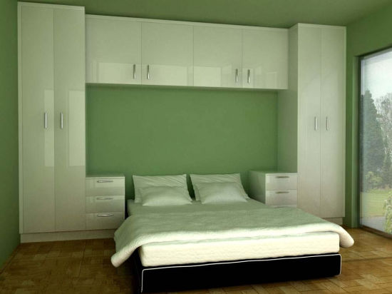 couleur blanche mdf armoires penderie