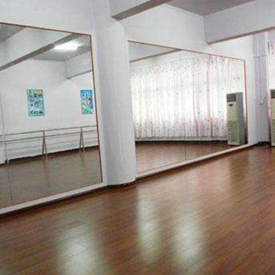 usine salle de gym mur miroir