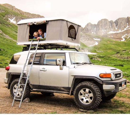 4x4 hors route camping auvent tente