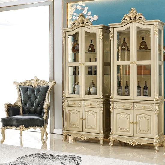 chine armoire a vin en bois avec buffet