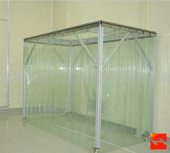 pvc rideau en plastique transparent