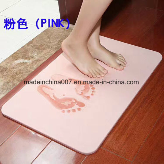 diatomite tapis tapis de bain