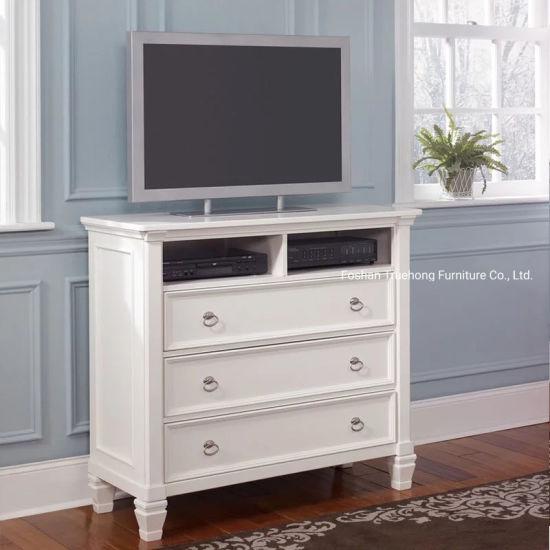 bois massif meuble tv hall cabinet