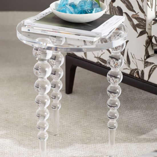 acrylique transparent table