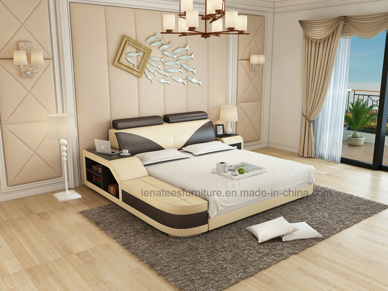 China Lb8817 New Model Bedroom Furniture Bed with Storage ... on New Model Bedroom  id=58256