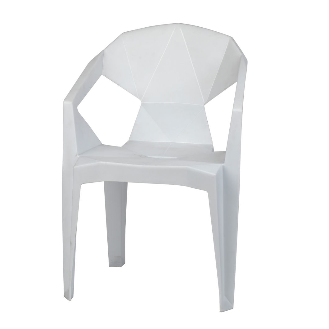 China Plastic Chair For Garden Stackable Outdoor Chair Pp Leisure Dining Chair Without Arm