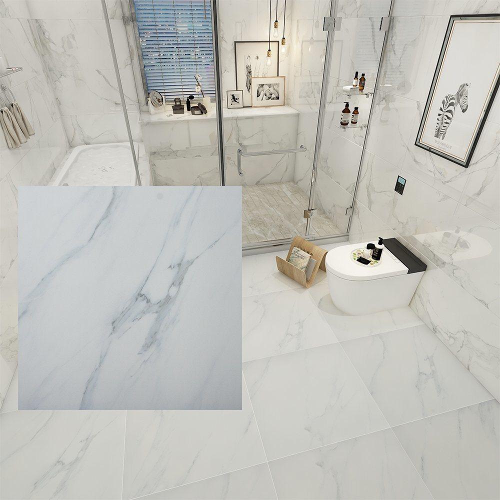 looks like marble modern bathroom tile