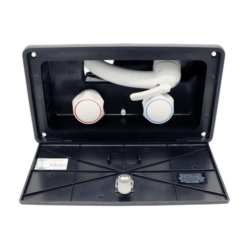 china exterior shower box kit black rv