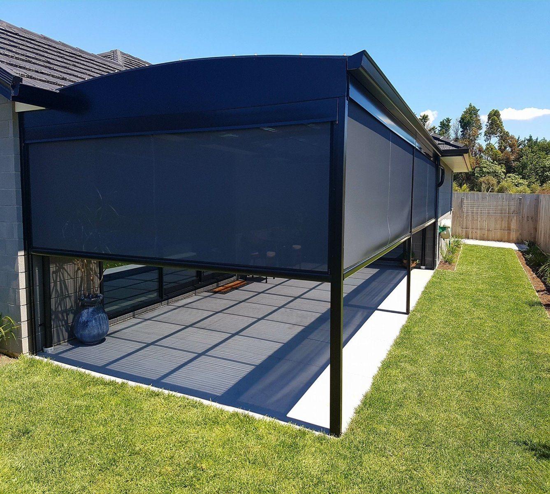 hot item best quality motorized zip track outdoor roller blinds