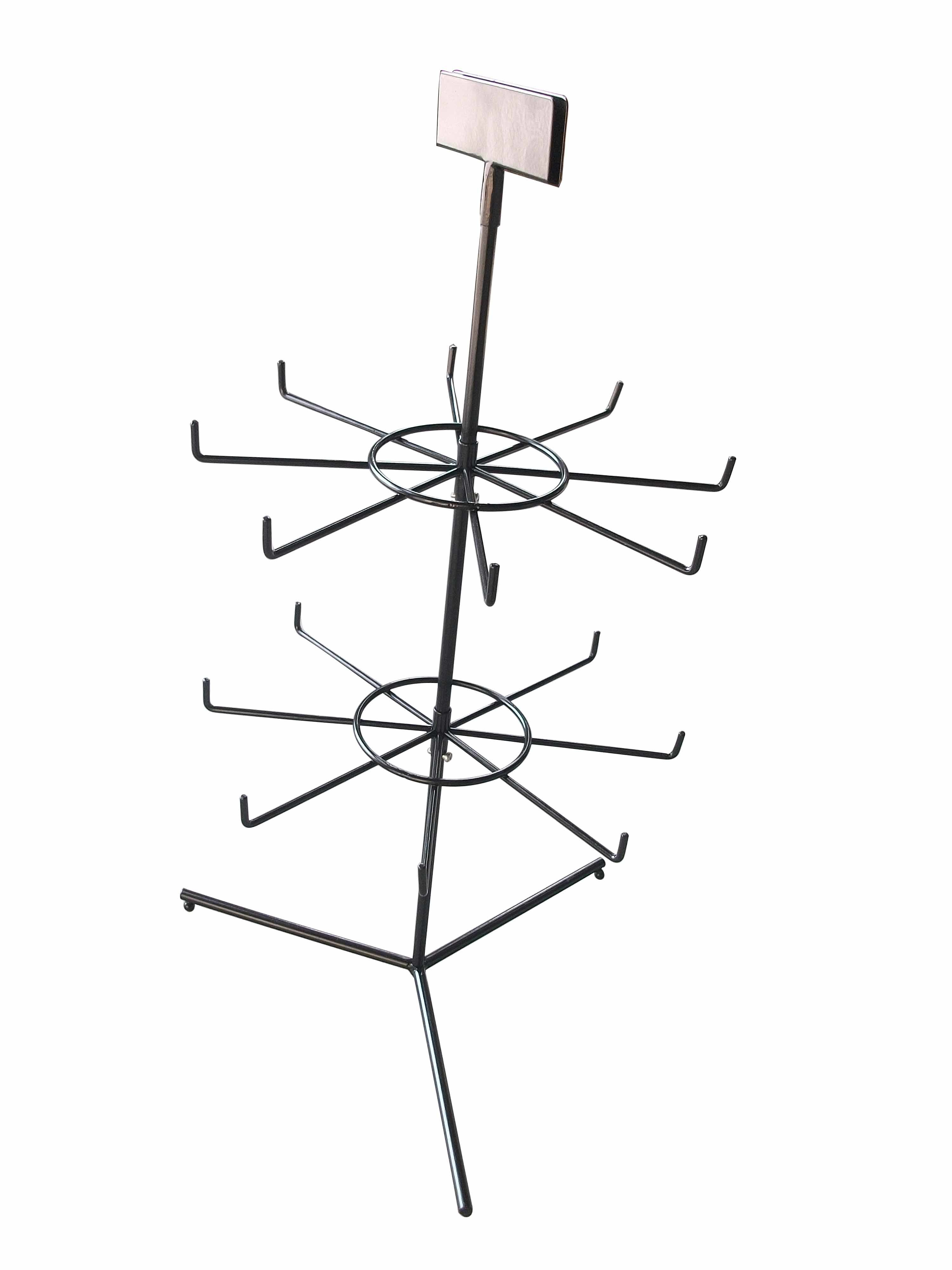 China Small Wire Rotating Display Rack Hyx Ap02 Photos