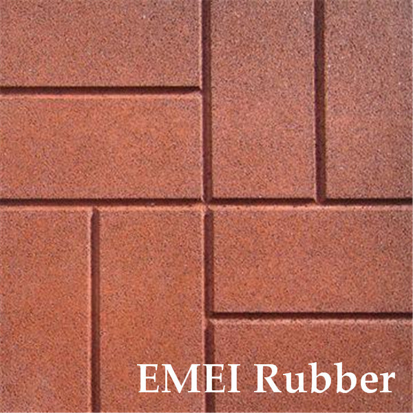 hot item recycled rubber pathway patio pavers