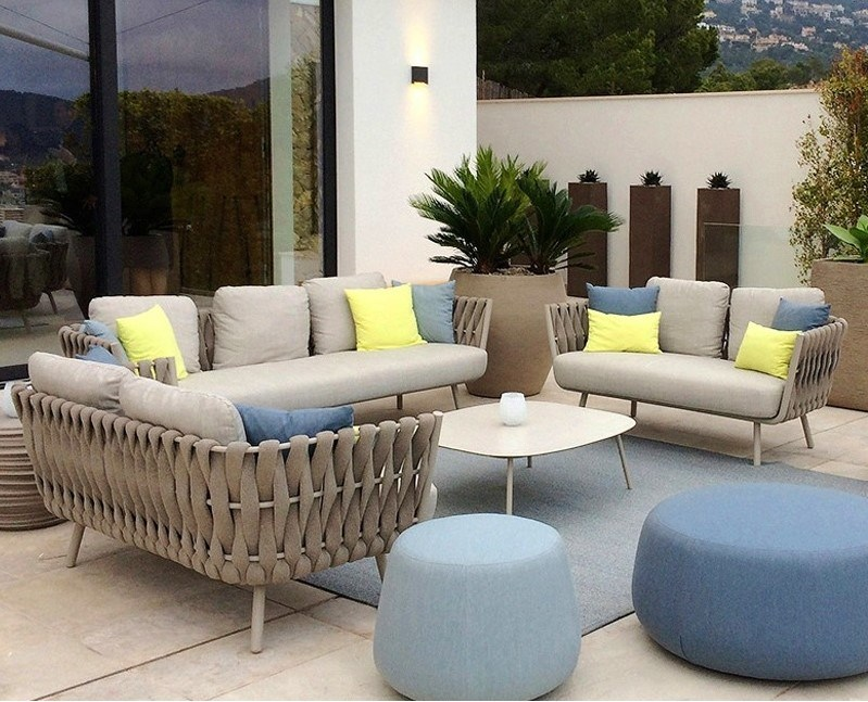 2019 stylish outdoor furniture rope