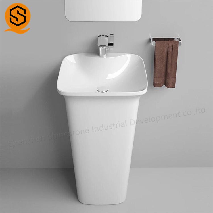 china solid surface sheet reception counter kitchen sink supplier shenzhen shinestone industrial development co ltd