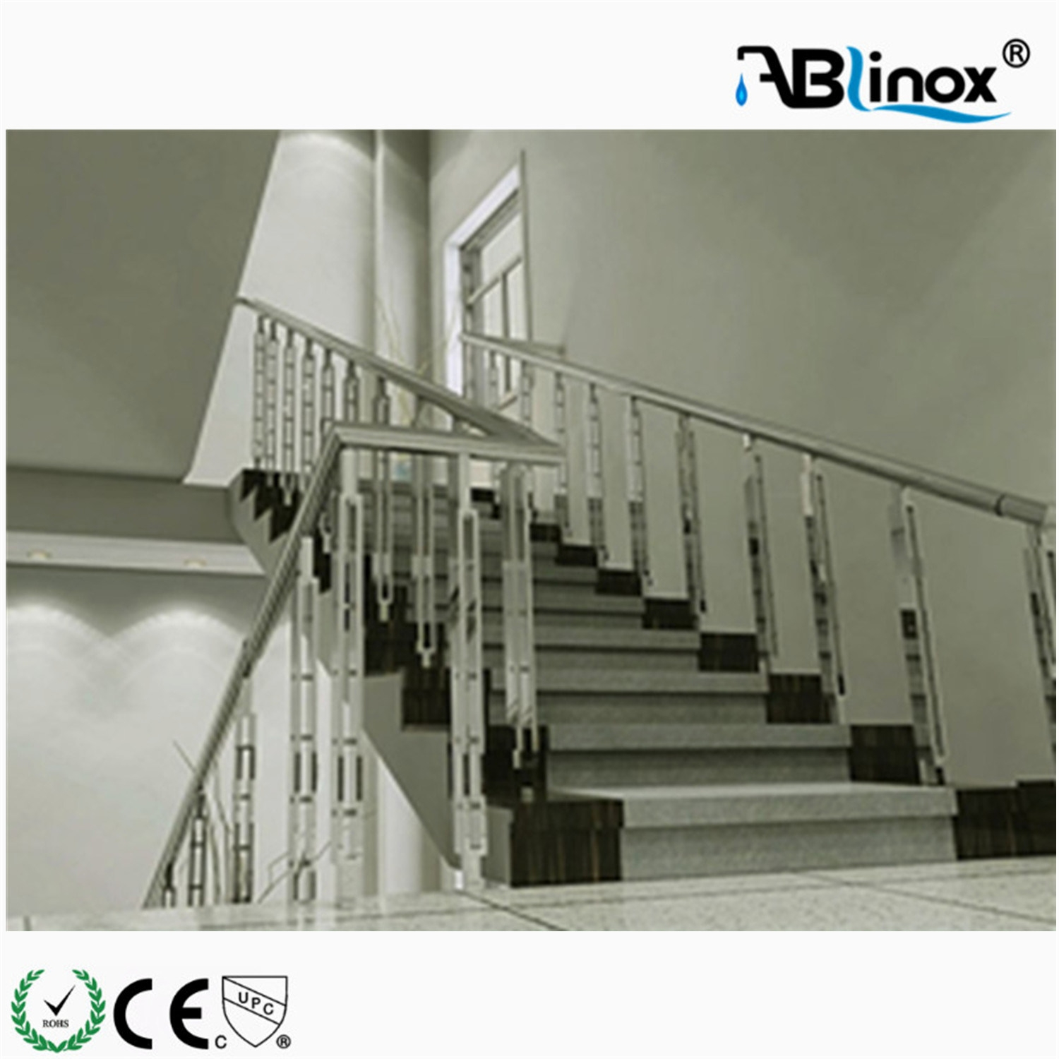 China Stainless Steel Handrail For Stairs China Railing Fence | Stainless Steel Handrails Near Me | Metal | Cable Railing | Glass Railing Systems | Relaxdays Stainless | Staircase Railing