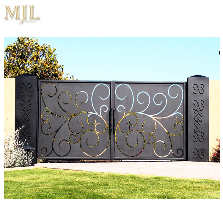 China Cast Iron Gate Design Iron Fancy Gates for Homes ... on Iron Get Design  id=30259