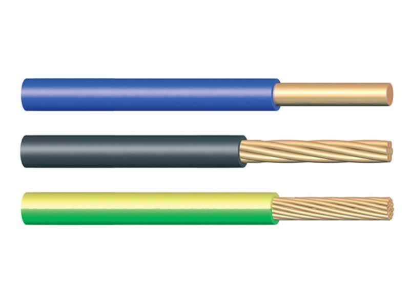 China H07V-R Flexible PVC Insulated Electric Cable And