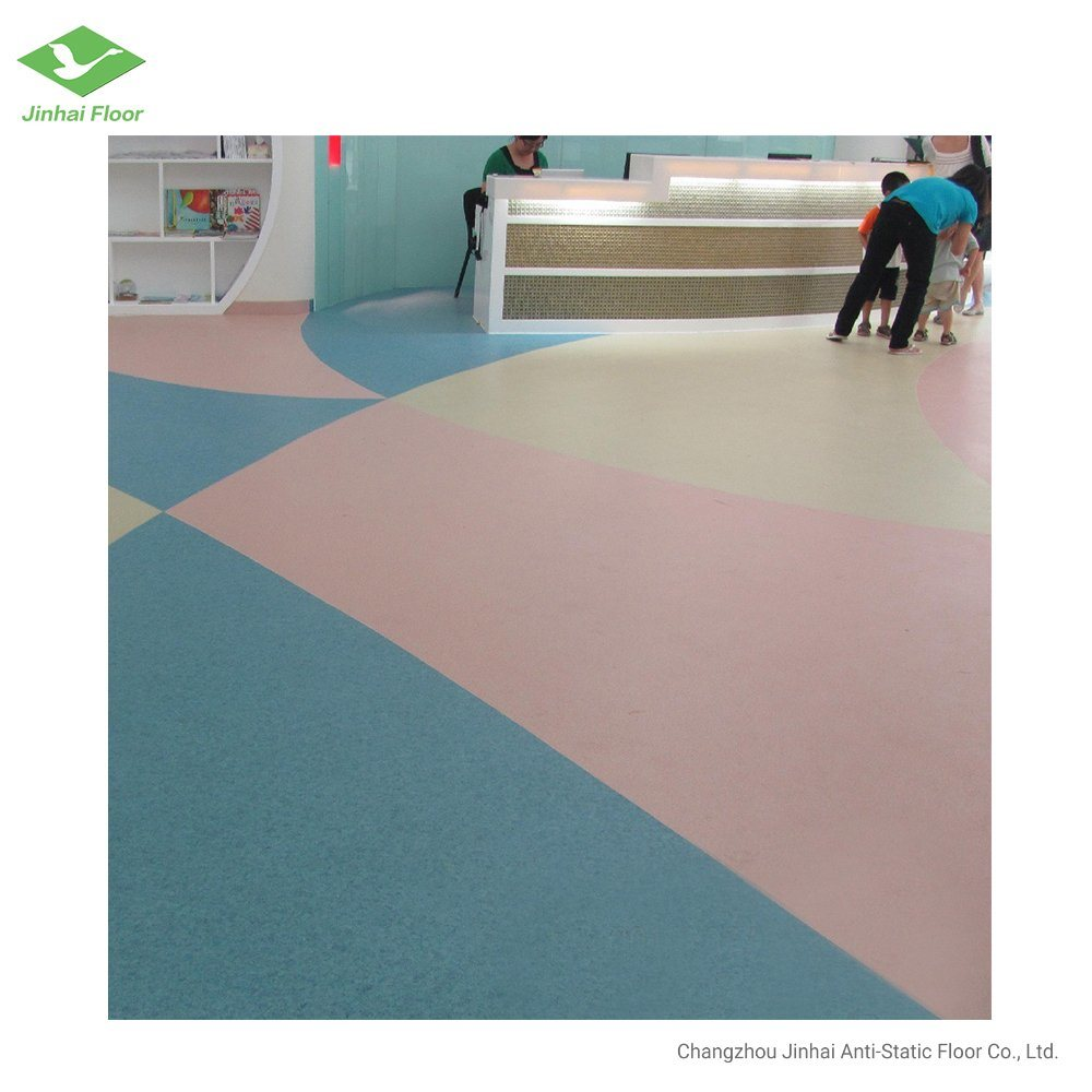 China Homogeneous Vinyl Flooring In Rolls For Kids Room Decoration China Homogeneous Vinyl Flooring Homogeneous Flooring In Rolls
